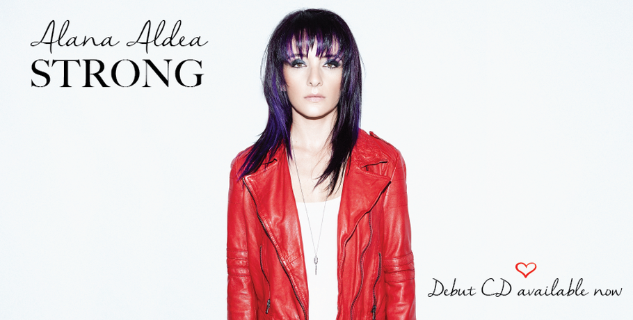 Alana Aldea music strong CD